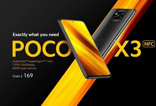 Comprar Poco X3 NFC barato