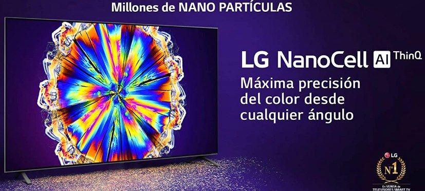 comprar Televisor LG NanoCell 4K 65″ barato