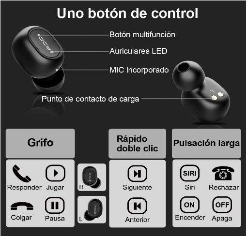 auriculares inalambricos oferta