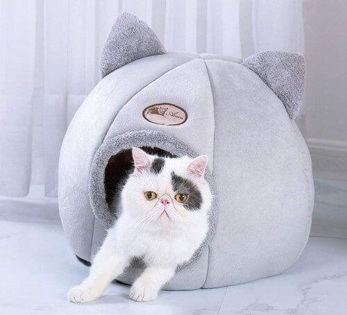 Bverionant cama nido para perros y gatos