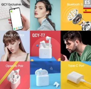 Comprar Auriculares inalámbricos QCY T7 barato