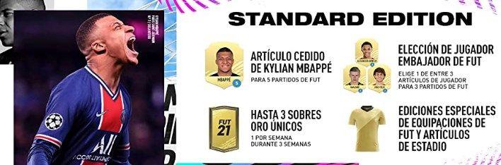 Comprar FIFA 21 para PS4 barato