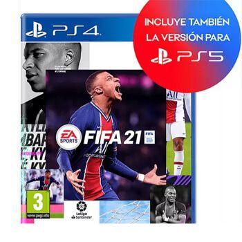 FiFA 21 PS4 y PS5 en MediaMarkt