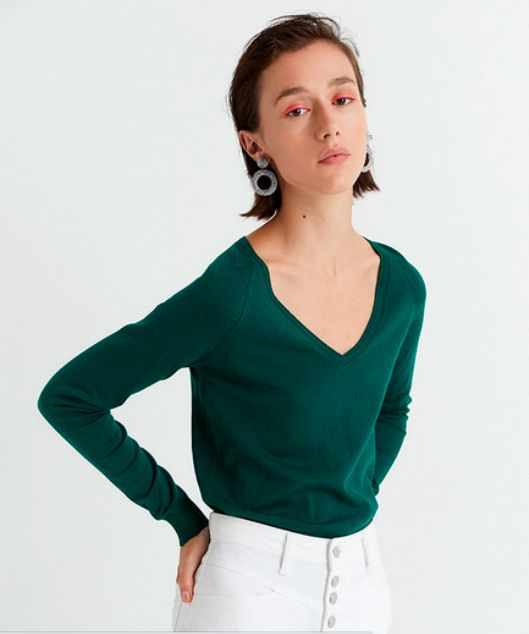 Jerseys Sfera Verde para mujer