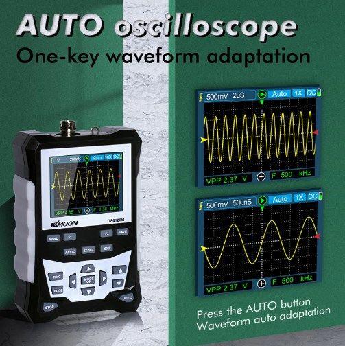 Comprar Osciloscopio digital portátil barato
