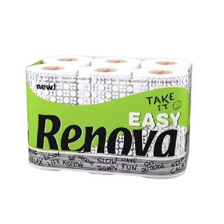 Papel higiénico Take It Easy Renova 12 rollos