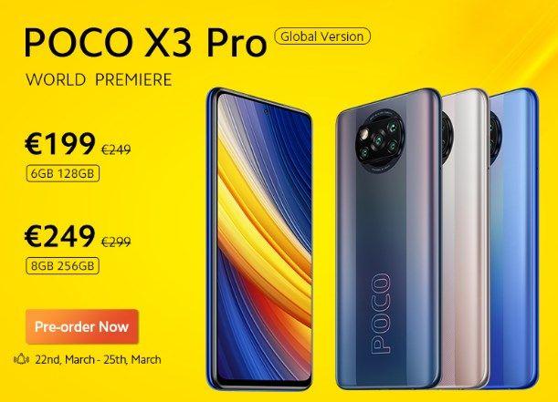 Comprar Xiaomi POCO X3 Pro promoción