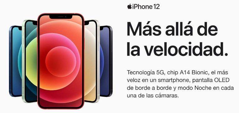 Comprar iPhone 12 barato
