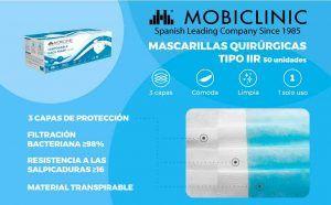 Comprar Pack de 50 unidades mascarilla higiénica
