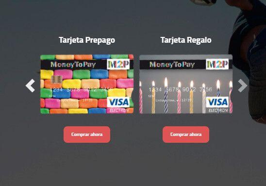 comprar tarjeta prepago moneytopay