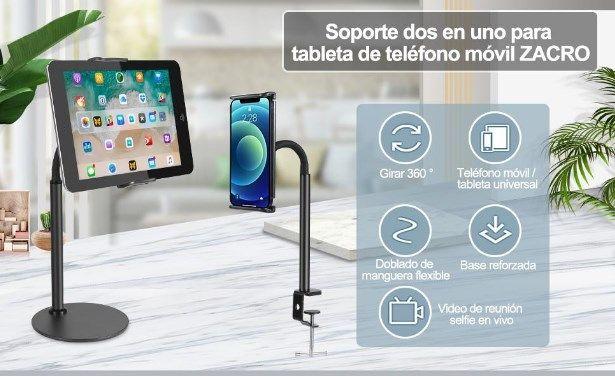 Comprar Soporte tablet móvil ajustable barata