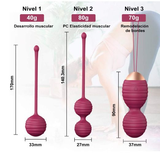 Comprar Bolas chinas para ejercicios Kegel