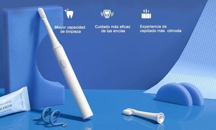 comprar Cepillo de dientes eléctrico Xiaomi Mijia T100 + 3 recambios barato