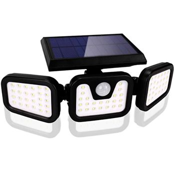 Luz Solar Exterior con Sensor de Movimiento oferta