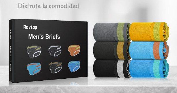 comprar Pack 6 calzoncillos de algodón barato
