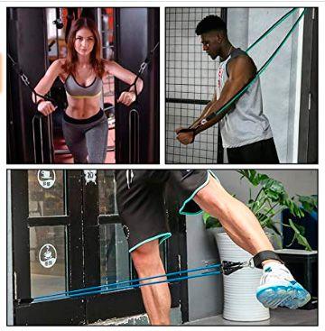 Gomas Elasticas Fitness, 12 Pcs