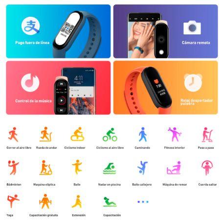 Xiaomi-pulsera inteligente Mi Band 6