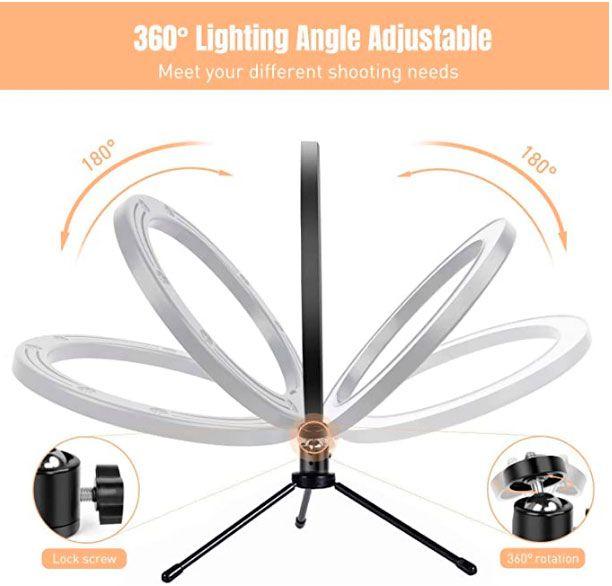 comprar anillo de luz con tripode oferta
