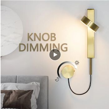 Lámpara de pared LED en AliExpress
