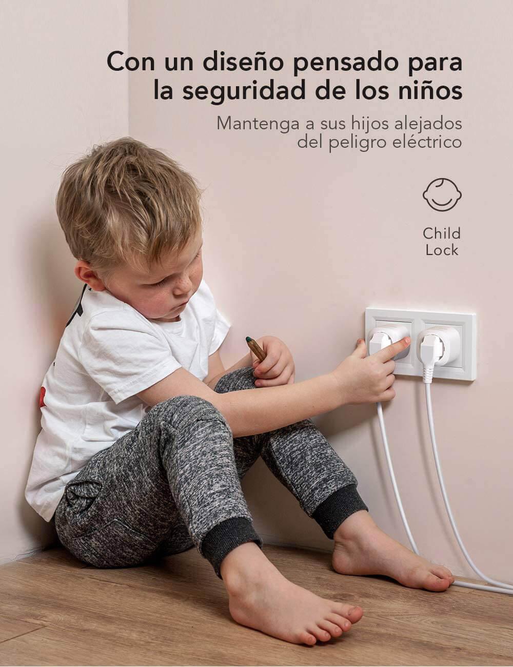 comprar enchufe seguro para niños barato