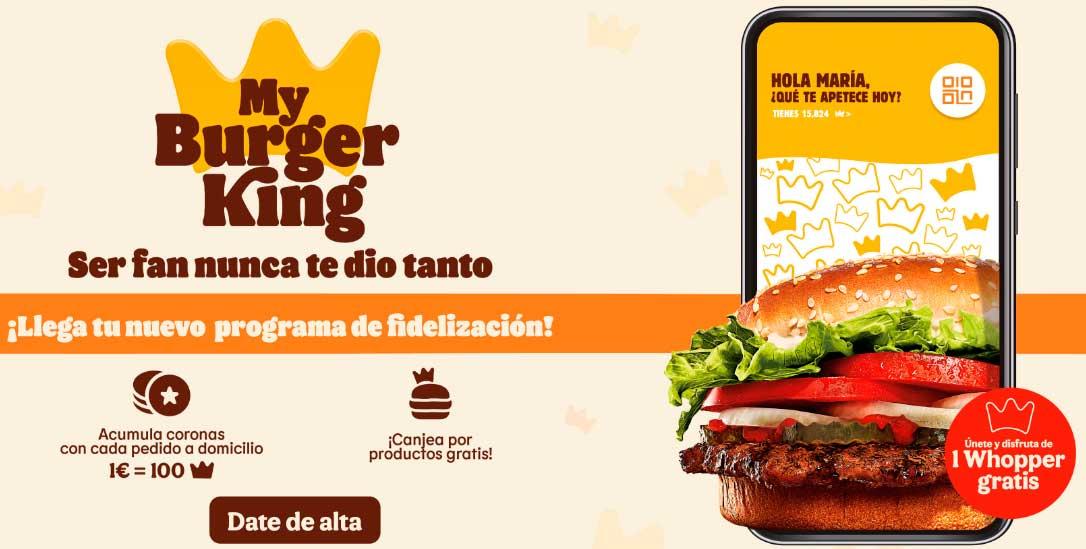 Burger King cupones julio 2021
