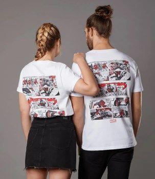 Camiseta Marvel Assemble
