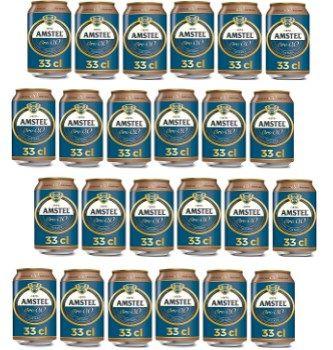 Cerveza Amstel Oro 0,0
