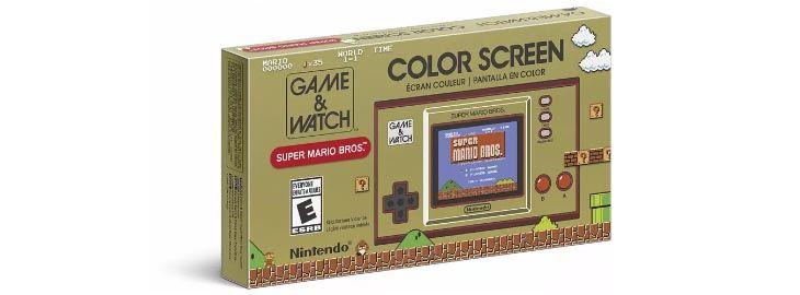 Consola retro Game & Watch