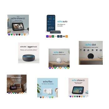 Dispositivos Echo con Alexa en oferta