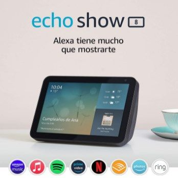 Echo Show 8 modelo 2019