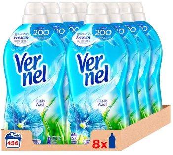 Pack de 8 unidades Vernel Cielo Azul