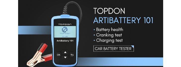 Probador batería de coche