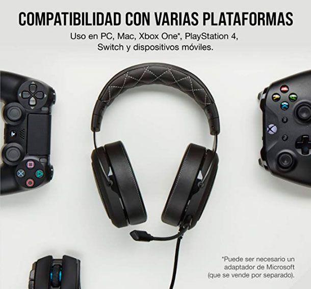 Corsair HS60 Pro Surround Auriculares para Juegos