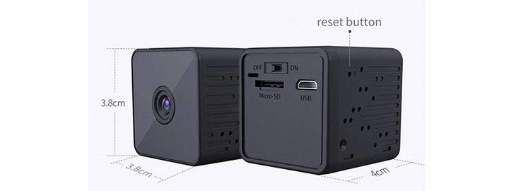 2 Mini cámara de 2 vigilancia Xiaomi Xiaovv