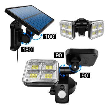 Luces solares de 120 led IP65