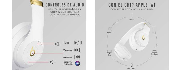Auriculares inalámbricos Beats Studio3 con chip Apple W1 imagen