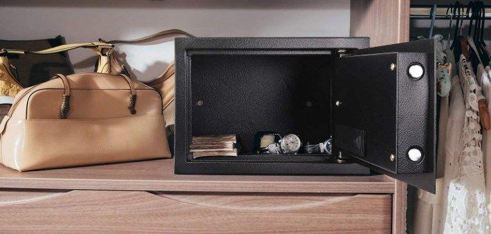 comprar Caja fuerte 14L con cerradura electrónica barata