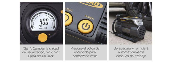 Compresor de aire para coche Autlead C2