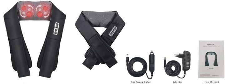 Masajeador de cuello 4D imagen adicional