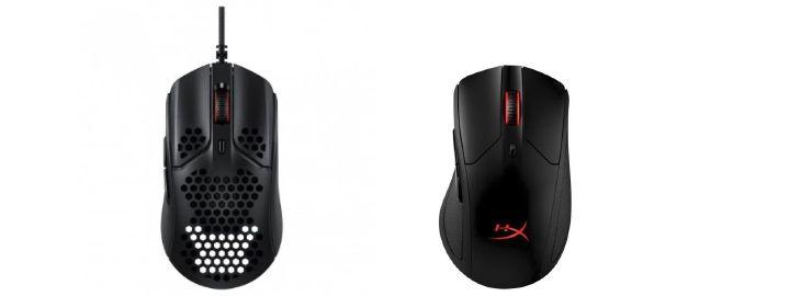 Ratón gaming HyperX Pulsefire Haste imagen dos ratones