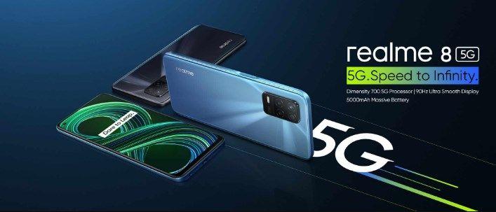 comprar Realme 8 5G barato