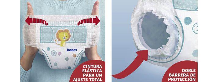 165 pañales Dodot Pants por 30,97€ en Amazon imagen