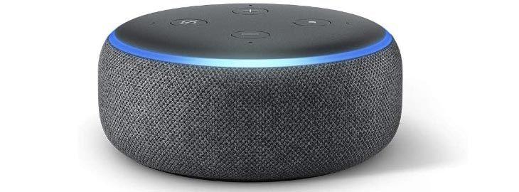 Altavoz inteligente con Alexa - Amazon Echo Dot (3ª Gen) por 19,99€ en Amazon imagen
