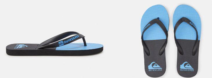 Grandes descuentos en chanclas en DC Shoes y Quiksilver desde 6,95€ en El Corte Inglés uno