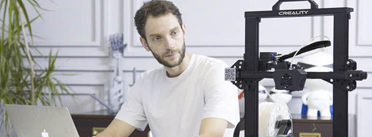 Impresora 3D Creality CR-6 por 329,35€ en AliExpress iamgen