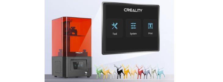 Impresora 3D de resina Creality por 128,99€ en AliExpress imagen