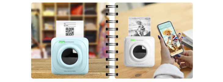 Impresora de bolsillo bluetooth Xiaomi iamgen por 21,73€ en AliExpress