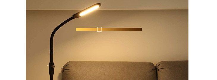 Lámpara de pie LED por 33,59€ en Amazon iamgen