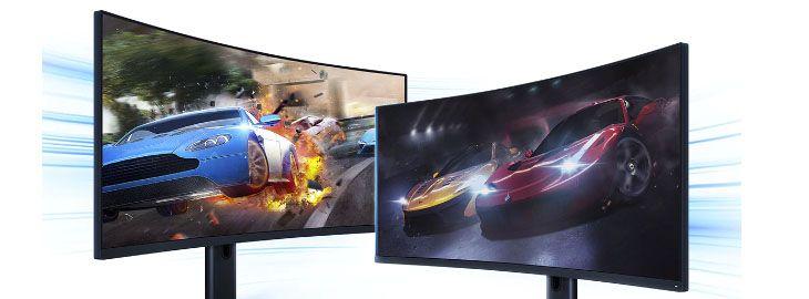 Monitor gaming 21-9 curvo Xiaomi a 369,99€ en Gshopper
