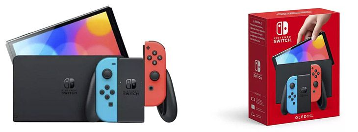 Nintendo Switch Oled a 349€ en Mediamarkt imagen